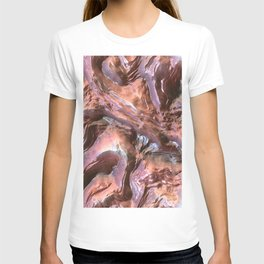 Wet Metal Structure T-shirt