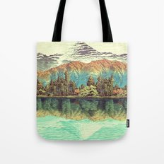 The Unknown Hills in Kamakura Tote Bag