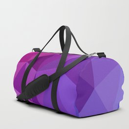 Geometric Abstract Art Pattern Two Duffle Bag