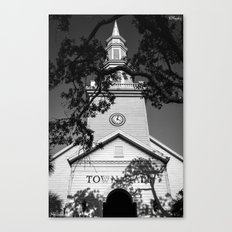 Ominous Town Hall Canvas Print