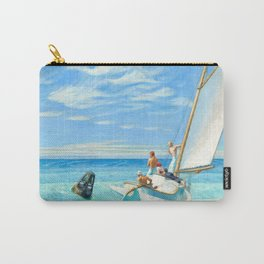 Ground Swell, 1939 by Edward Hopper Carry-All Pouch