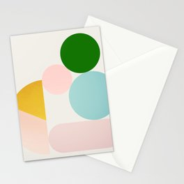 Abstraction_Minimal_Shapes_001 Stationery Cards