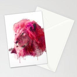 Rose Lion Stationery Cards