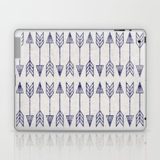 long arrow Laptop & iPad Skin