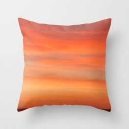 Candy Colors at Sunrise Throw Pillow