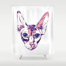 Sphynx Shower Curtain