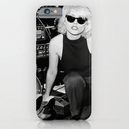 Blondie Poster,Debbie Harry Photograph,Vintage Photo,Rock Music Legends,Housewarming Gift,Home Decor,Photos and Prints,Music Art iPhone Case