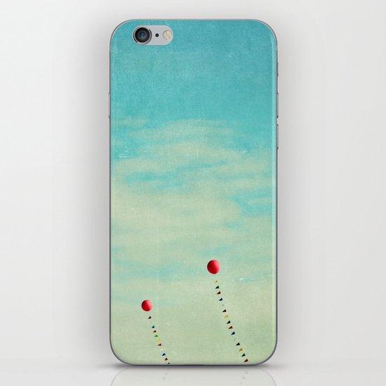 three red balloons II iPhone & iPod Skin