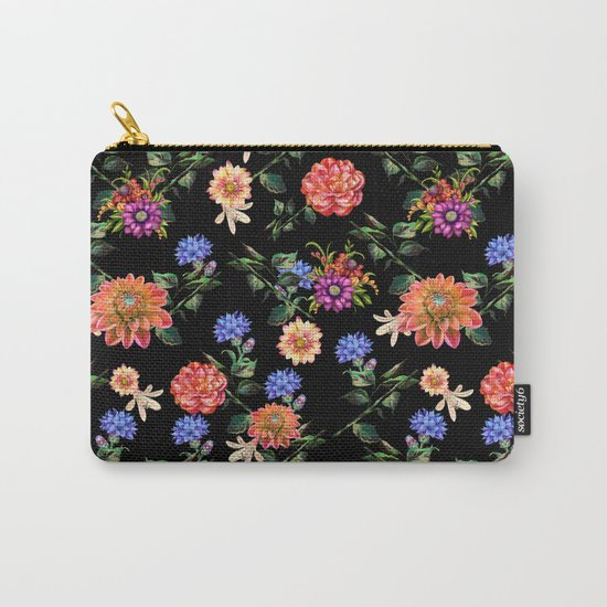 Secret Winter Garden Carry-All Pouch
