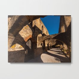 Texas Mission Arches Metal Print