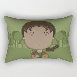 Scowling Rectangular Pillow