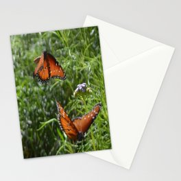 Butterflies in love  Stationery Cards