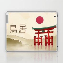 Torii Gate - Painting Laptop & iPad Skin