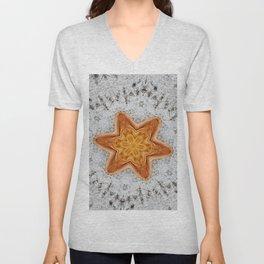 Star Husk Mandala Unisex V-Neck
