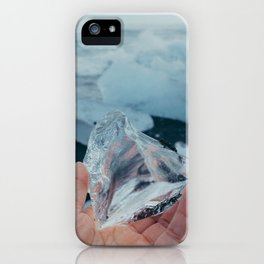 ice from iceland iPhone Case