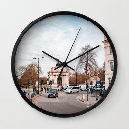 Wellington Arch - London Wall Clock