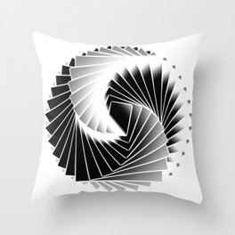 imaginary roulette Throw Pillow