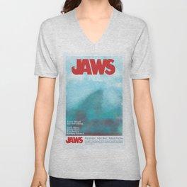 Jaws Unisex V-Neck