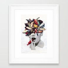 Ωmega-3 Framed Art Print