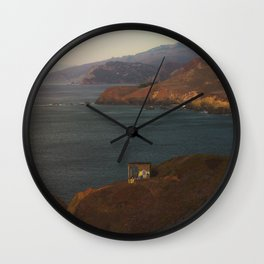 Lookout Spot Wall Clock
