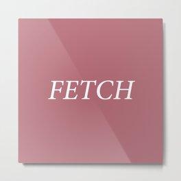 Fetch Metal Print