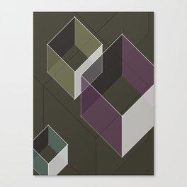 Muted RGB by Friztin Canvas Print
