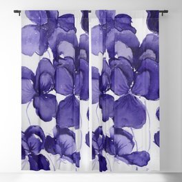 Pansy Party Blackout Curtain