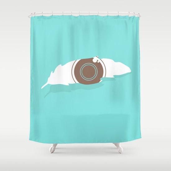 En-light-enment Shower Curtain