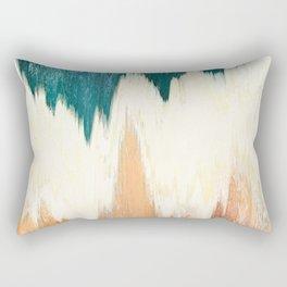 Pixel Sorting 55 Rectangular Pillow