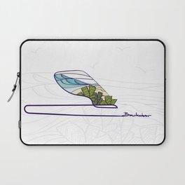 Single Fin Rides - Backdoor Laptop Sleeve
