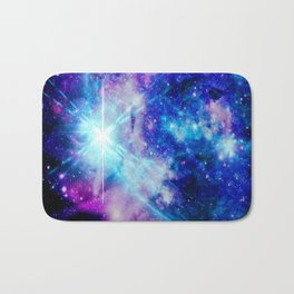 galaxy Nebula Star Bath Mat