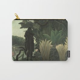 Henri Rousseau - The Snake Charmer Carry-All Pouch
