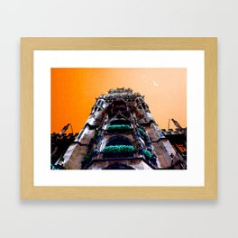 Working with Orange  Framed Art Print
