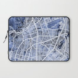 Cali Colombia City Map Laptop Sleeve