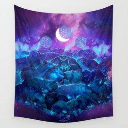 Wolf Watcher 'Key Wall Tapestry