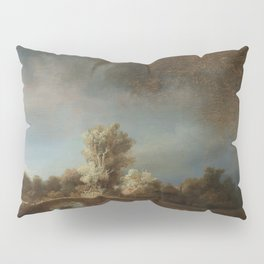 Rembrandt - The Stone Bridge Pillow Sham