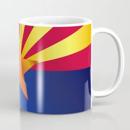 Arizona State Flag Gloss Coffee Mug