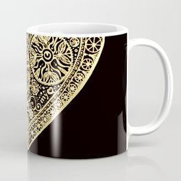 golden heart I love you Coffee Mug