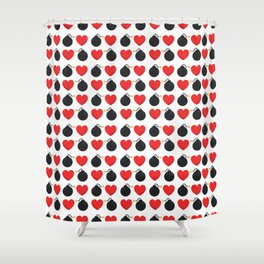 Two Bombs Together Shower Curtain