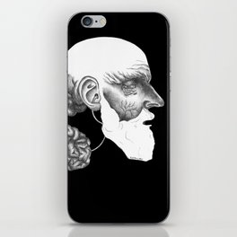 Limit your emotional affect please. iPhone Skin