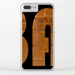 Albany New York 1818 Clear iPhone Case