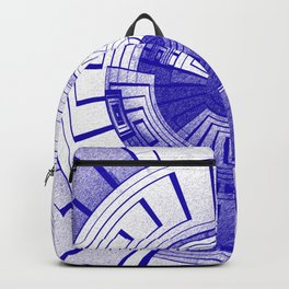 Futuristic abstract Backpack