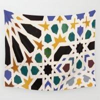 escher Wall Tapestries featuring Escher Inspiration by Nancy Smith