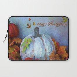 Happy Thanksgiving - Seasonal Art Laptop Sleeve