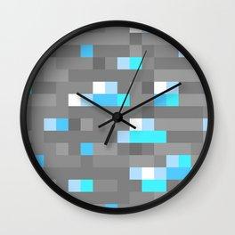 Mined Diamond Block Everything Wall Clock