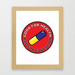 Akira Pill 1 Framed Art Print