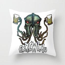 Cbrewlhu Throw Pillow