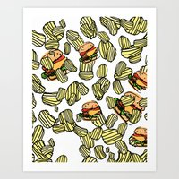 Cookout Art Print
