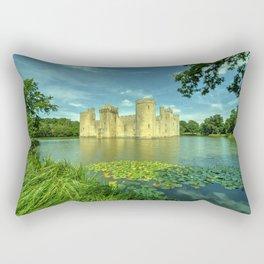 Bodiam Castle Rectangular Pillow