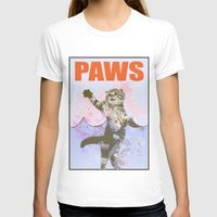 jaws T-shirts featuring paws / Jaws by tshirtsz